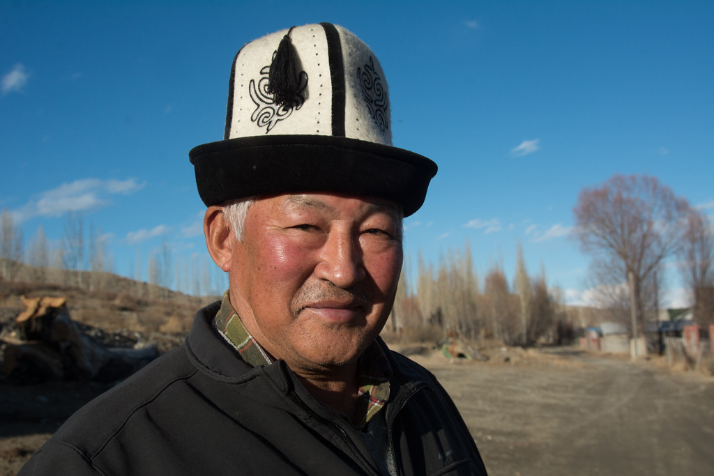 Our Kyrgyz Host in Kyzyl-Tuu Village - Southern Shore, Kyrgyzstan