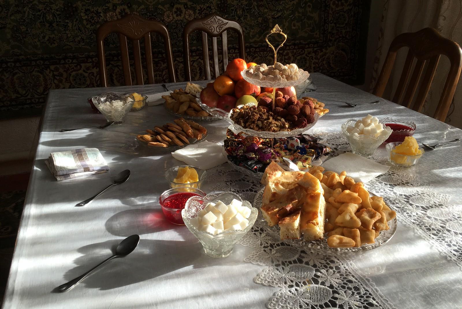 Tea Time in Kyrgyzstan - Kyzyl-Tuu, Southern Shore