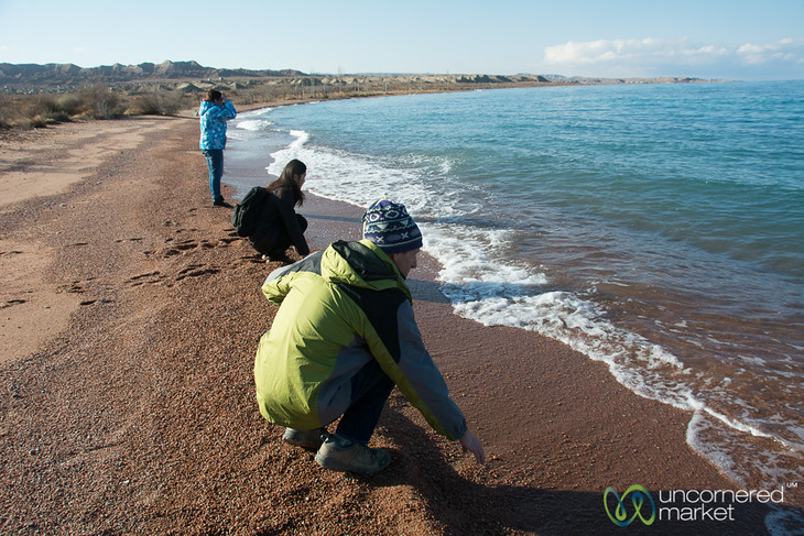 Southern Shore of Lake Issyk-Kul, Kyrgyzstan