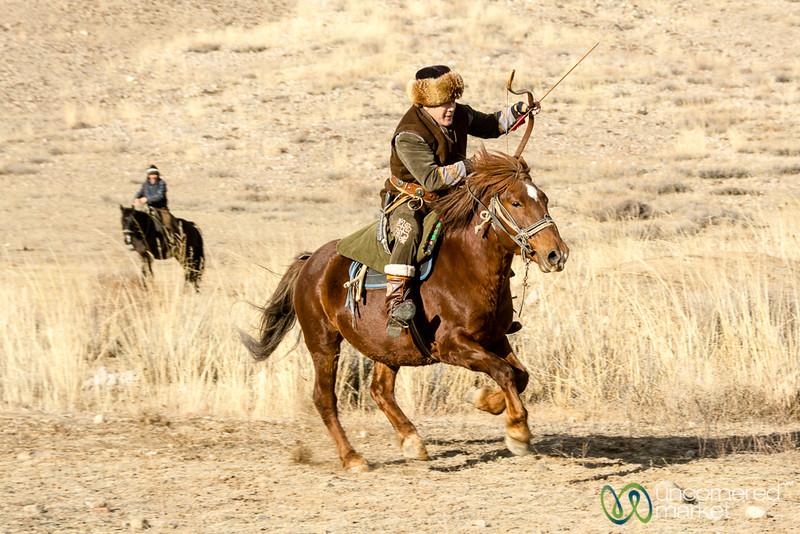 Archery on Horseback, Sulburuun Federation in Bakonbaevo - Southern Shore, Kyrgyzstan