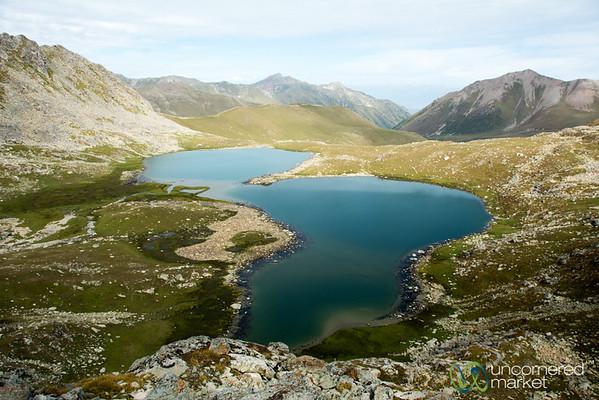 Alpine Lakes on Day 3, Highest Point - Jyrgalan Trek, Kyrgyzstan