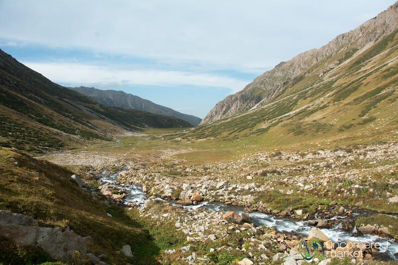 First Campsite Along Jyrgalan Trek - Kyrgyzstan