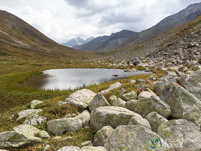 Mountain Ponds, Jyrgalan Trek - Kyrgyzstan