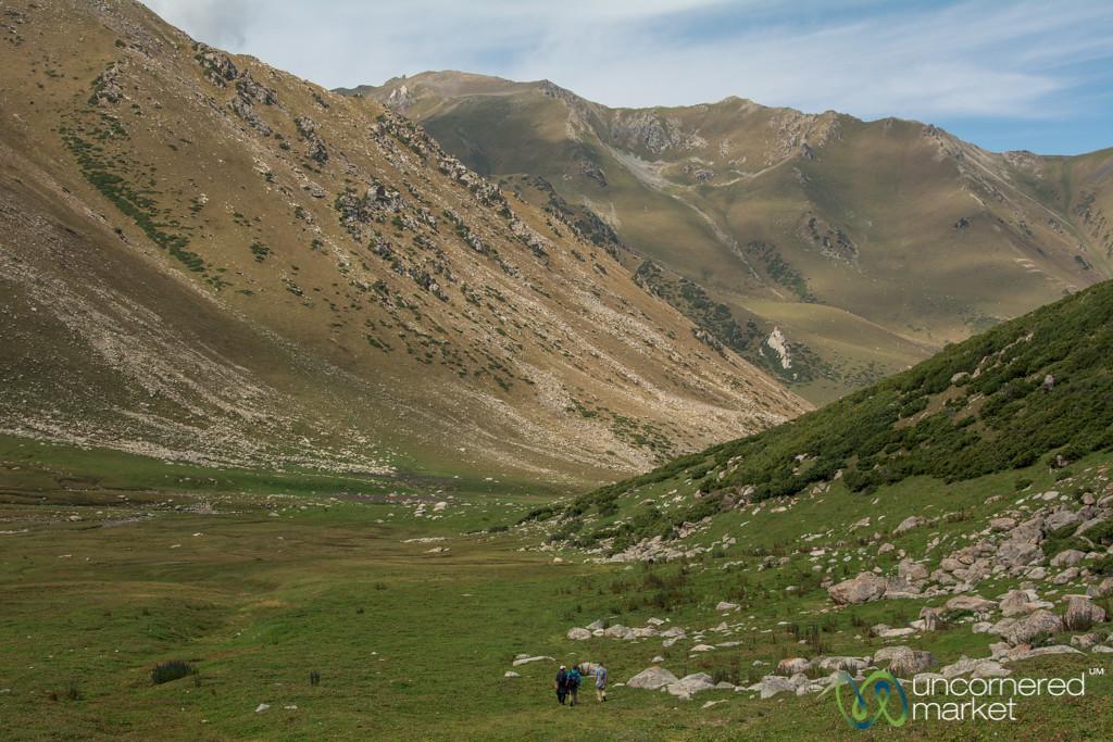 Walking Through the Valley - Jyrgalan Trek, Kyrgyzstan