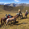 Jyrgalan Trek, Crossing the Mountain Pass - Kyrgyzstan
