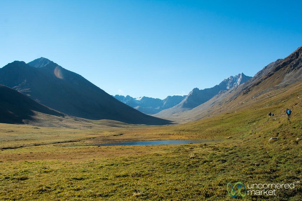 Early Morning, Day 2 of Jyrgalan Trek - Kyrgyzstan