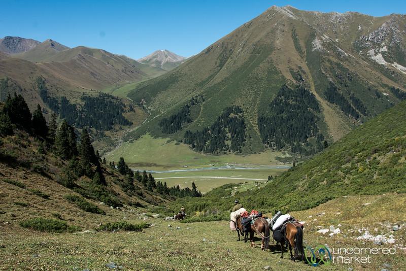Horsemen and Horses - Jyrgalan Trek, Kyrgyzstan