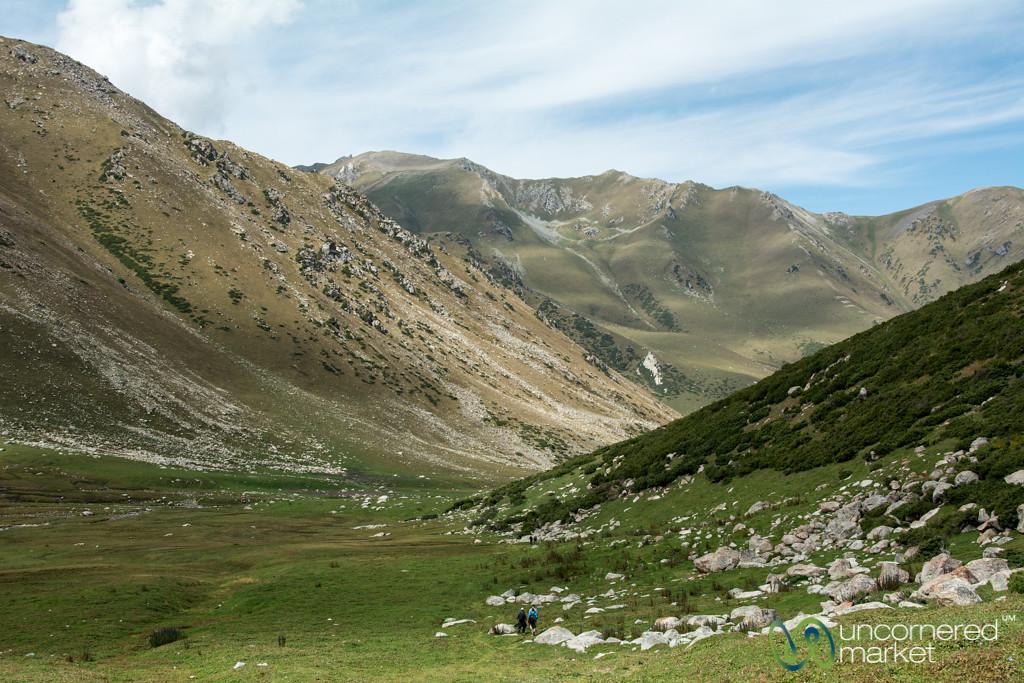 Trekking Through the Valley - Jyrgalan Trek, Kyrgyzstan