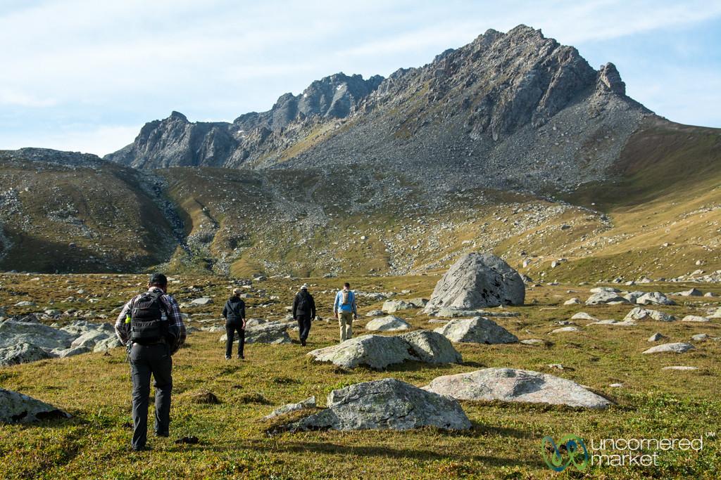 Early Morning Trekking, Day 3 of Jyrgalan Trek - Kyrgyzstan