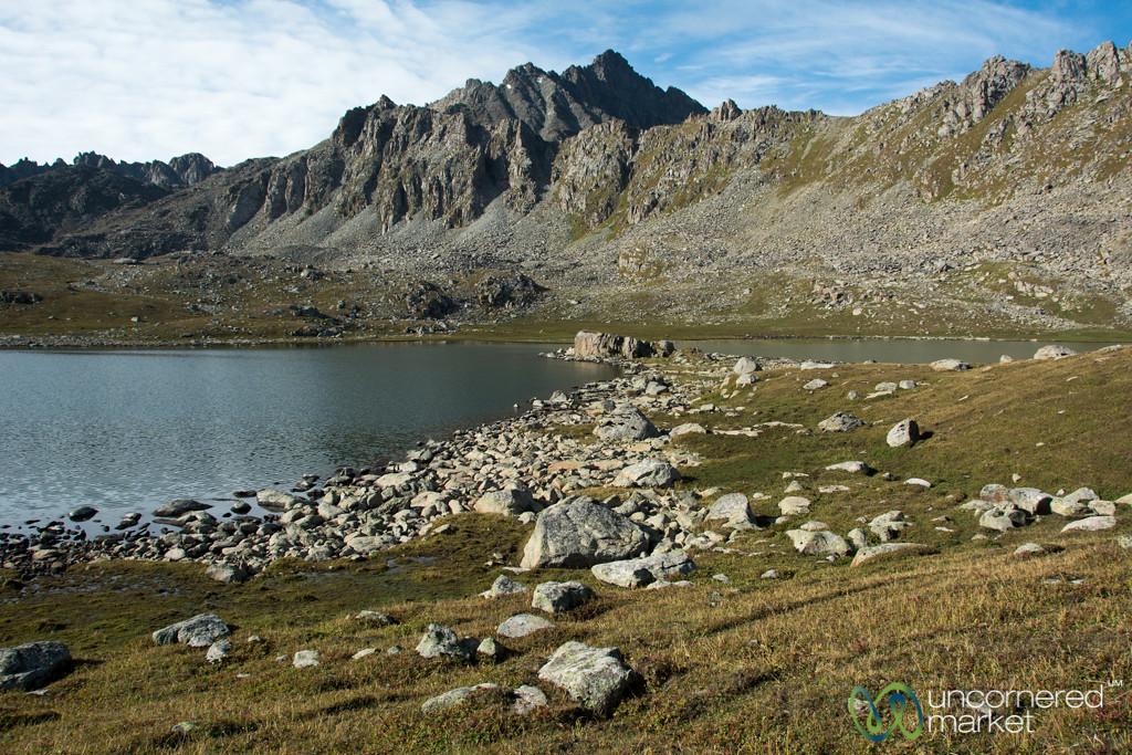 Alpine Lakes on Day 3 of Jyrgalan Trek - Kyrgyzstan