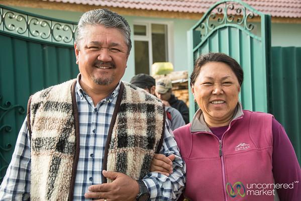 Our Hosts in Jyrgalan, Kyrgyzstan