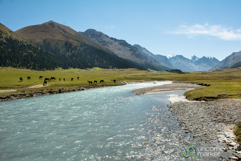 Jyrgalan River - Kyrgyzstan
