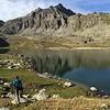 Dan Enjoys the View, Jyrgalan Trek - Kyrgyzstan