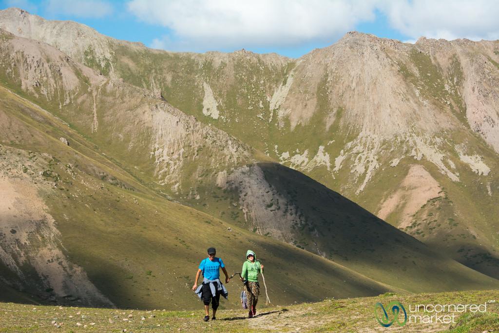 Walking in the Mountains - Jyrgalan Trek, Kyrgyzstan