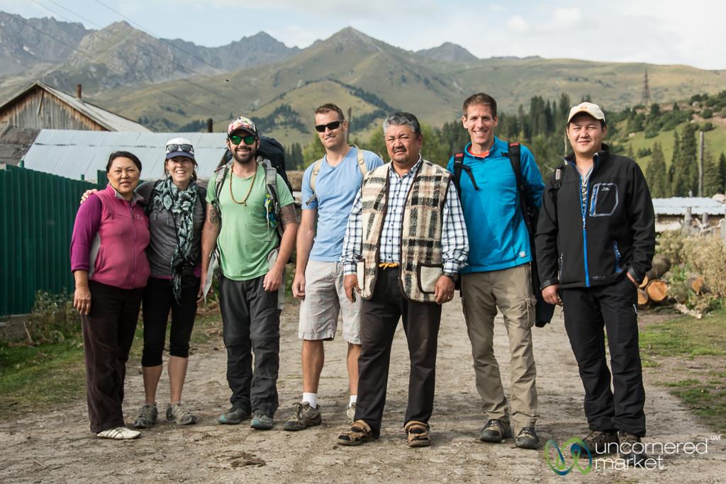 Setting Off on the Jyrgalan Trek - Kyrgyzstan
