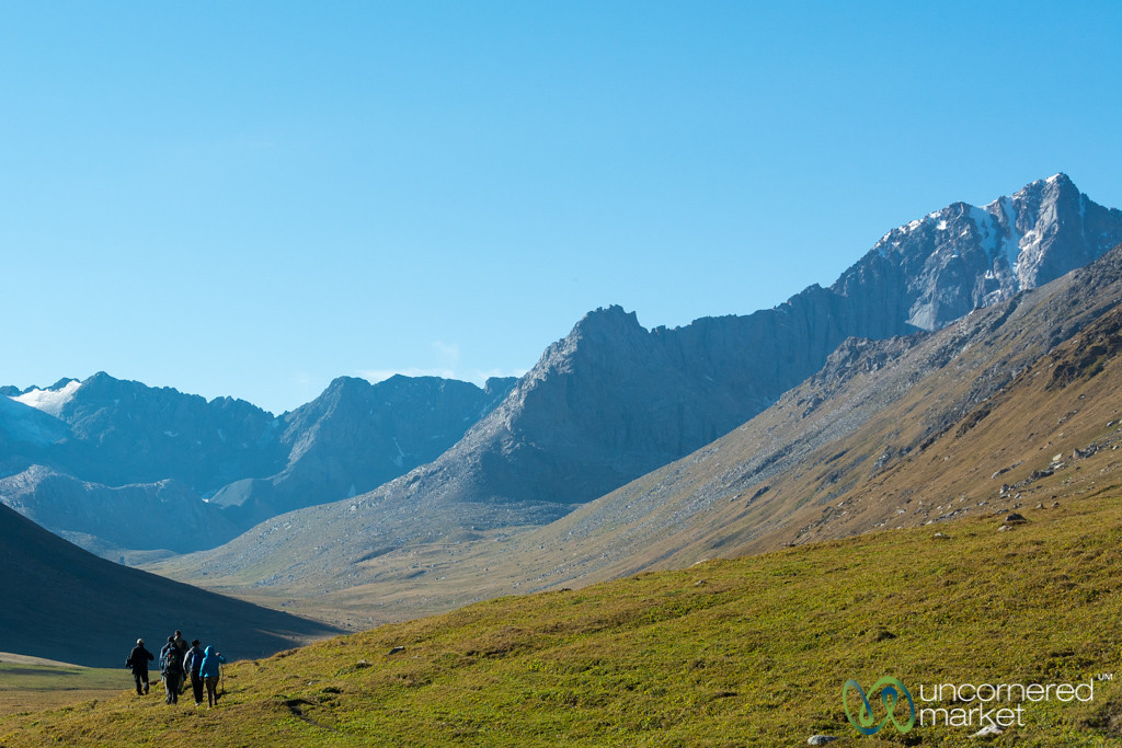 Morning, Day 2 of Jyrgalan Trek - Kyrgyzstan