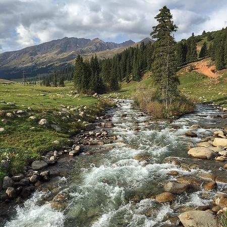Jyrgalan Trek in the Tian Shan Mountains of Kyrgyzstan