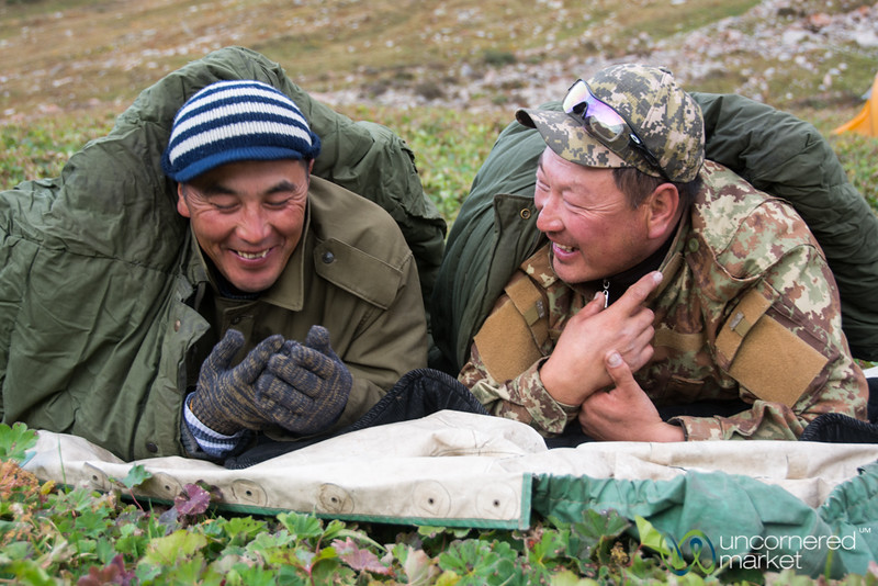 Friends, Jyrgalan Trek - Kyrgyzstan