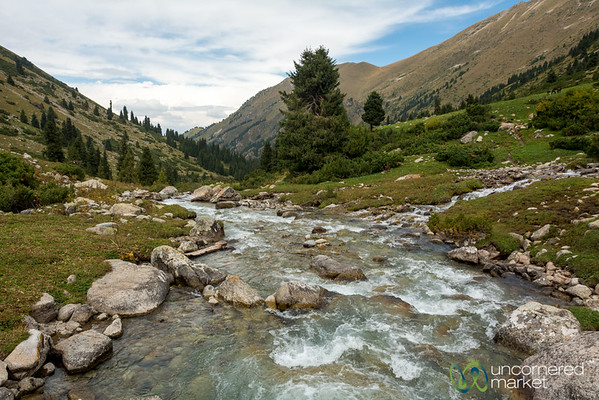 Mountain Streams - Jyrgalan Trek, Kyrgyzstan