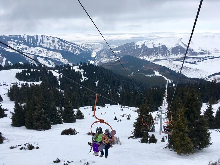 Karakol Ski Lift -Kyrgyzstan