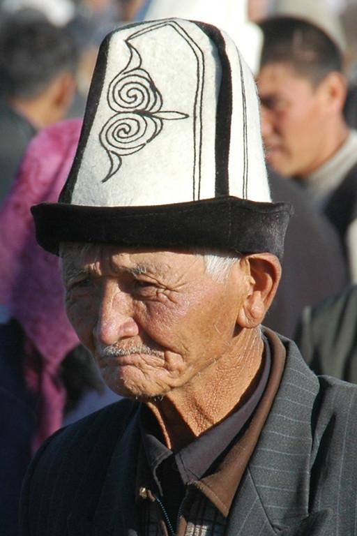 Old Kyrgyz Man - Karakol, Kyrgyzstan