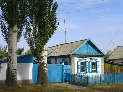 Russian House in Karakol, Kyrgyzstan