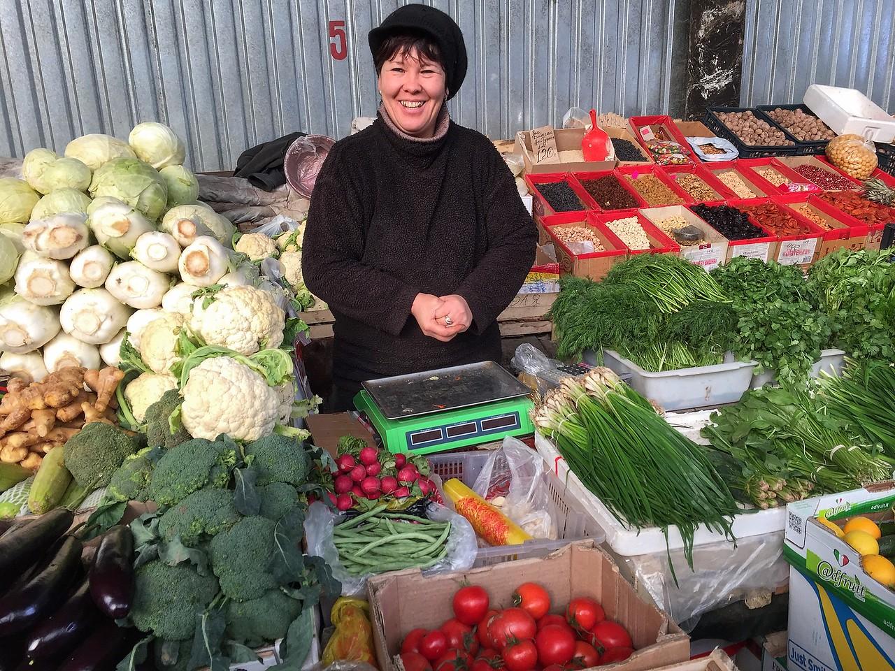 Karakol Small Bazaar, Kyrgyzstan