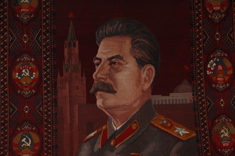 Stalin on a Rug - Bishkek, Kyrgyzstan
