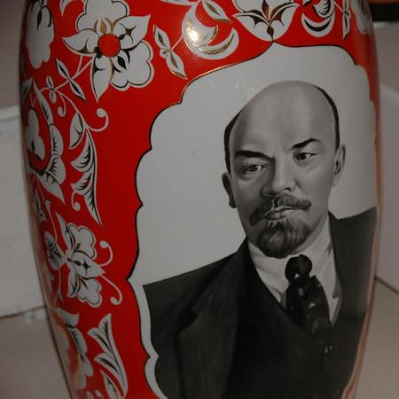 Lenin on a Vase - Bishkek, Kyrgyzstan