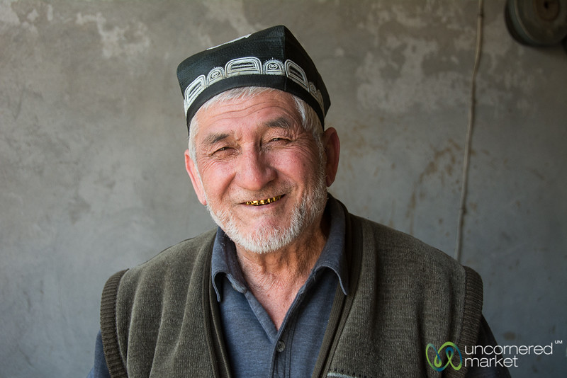 Zakir Jon, the Knife Master of Osh, Kyrgyzstan