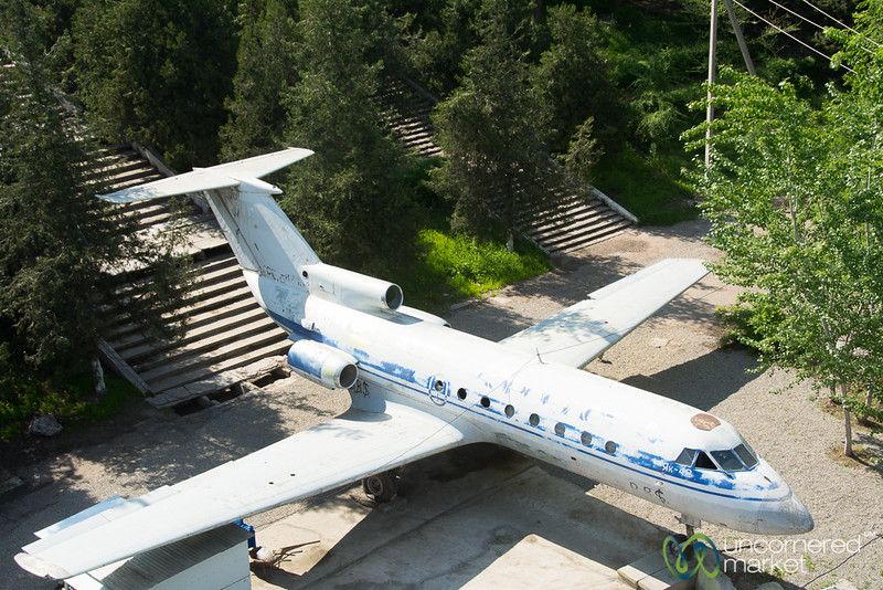 Airplane in Osh Park - Osh, Kyrgyzstan