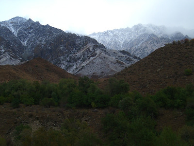 Snowy Mountains - Bishkek to Osh, Kyrgyzstan