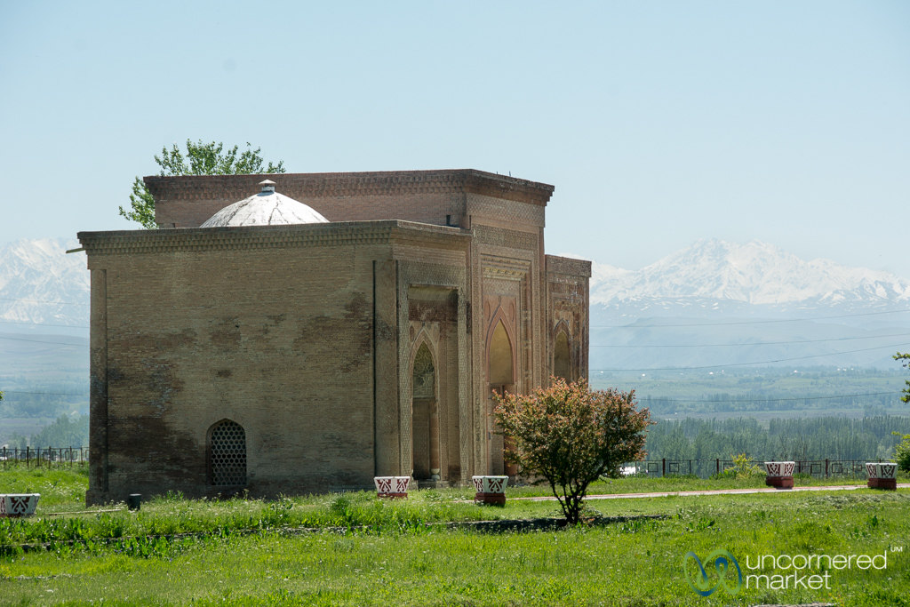 Silk Road Mausoleum of Uzgen, Kyrgyzstan