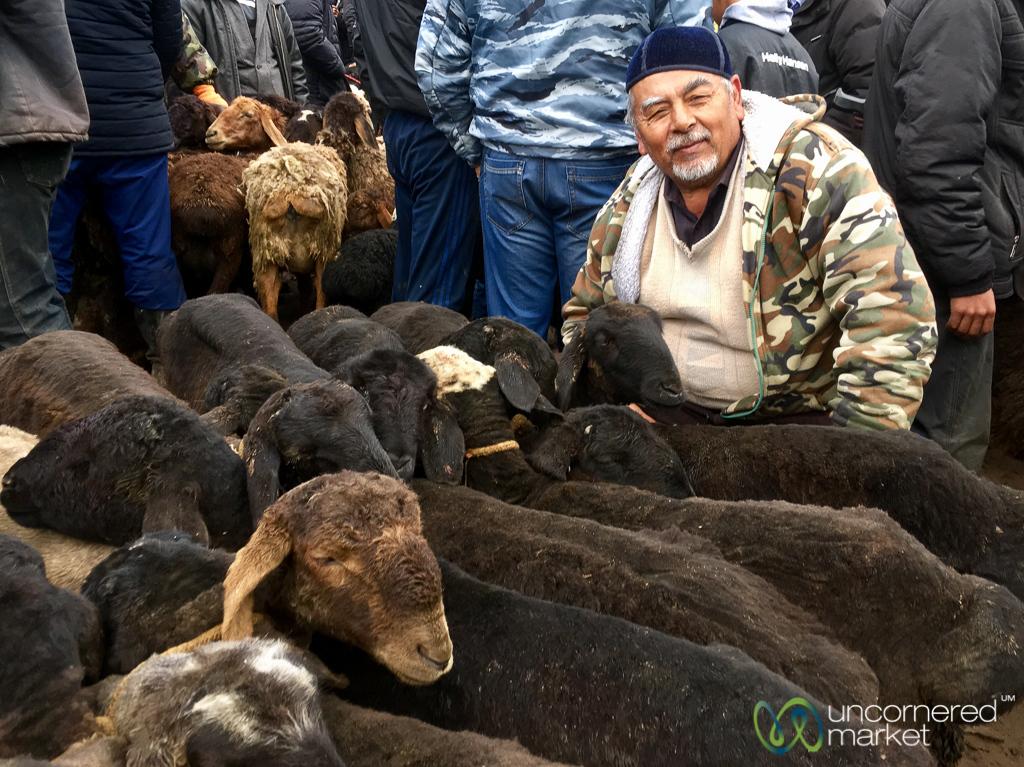 Osh Sunday Animal Market - Osh, Kyrgyzstan