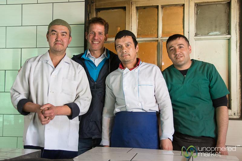Dan and the Somsa Masters - Osh, Kyrgyzstan