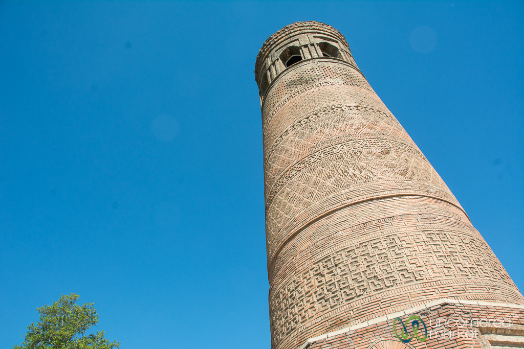 Silk Road Minaret of Uzgen, Kyrgyzstan
