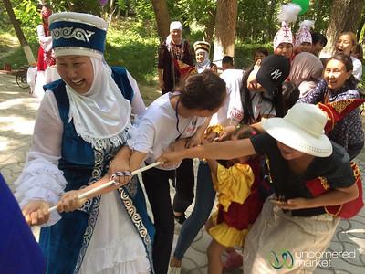 Tug of War Games - Osh Fest, Kyrgyzstan