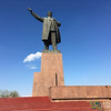 Giant Lenin Statue in Osh, Kyrgyzstan