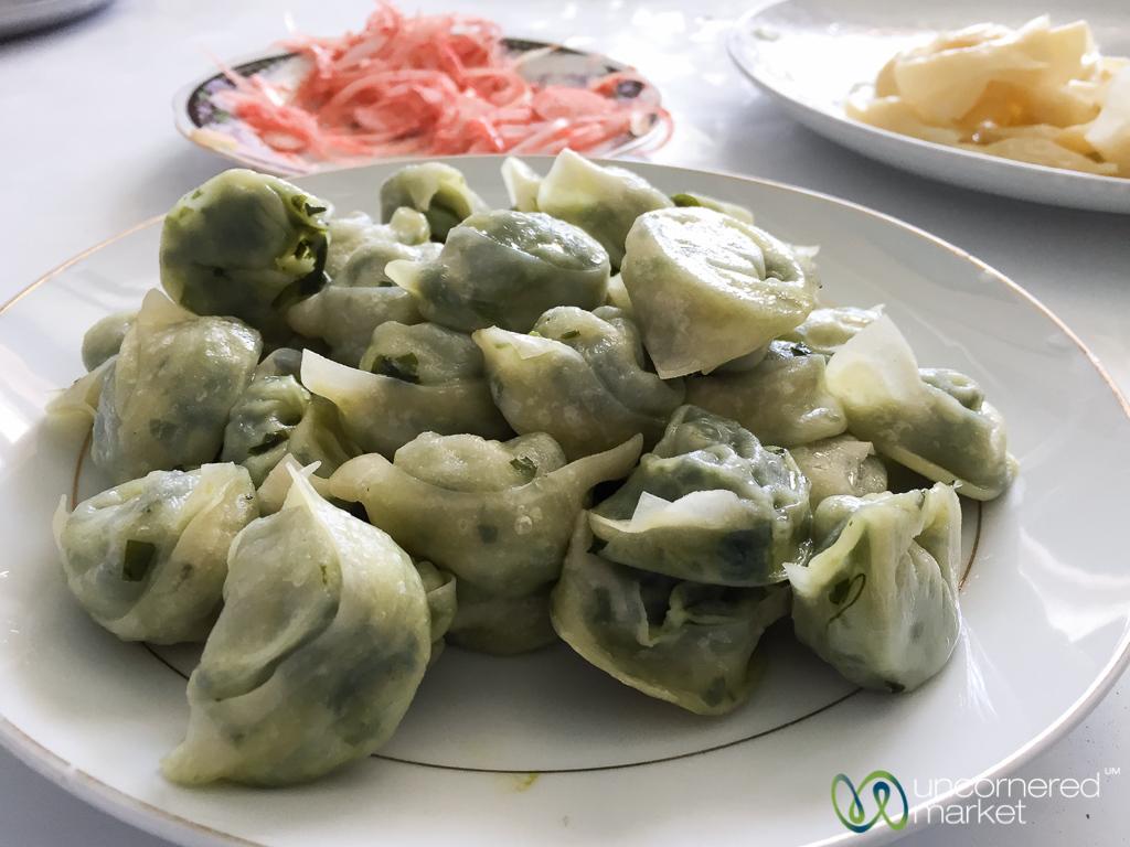 """Spinach """"Gök"""" Chuchvara - Osh, Kyrgyzstan"""