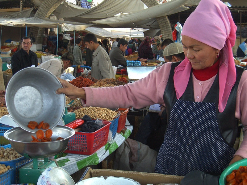 Sweet Treats at Osh Market, Kyrgyzstan