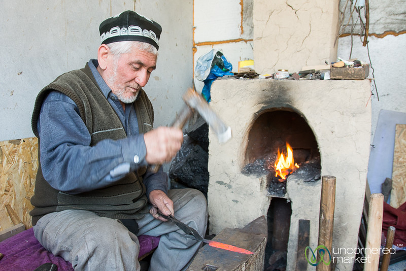 Knife Master of Osh, Kyrgyzstan