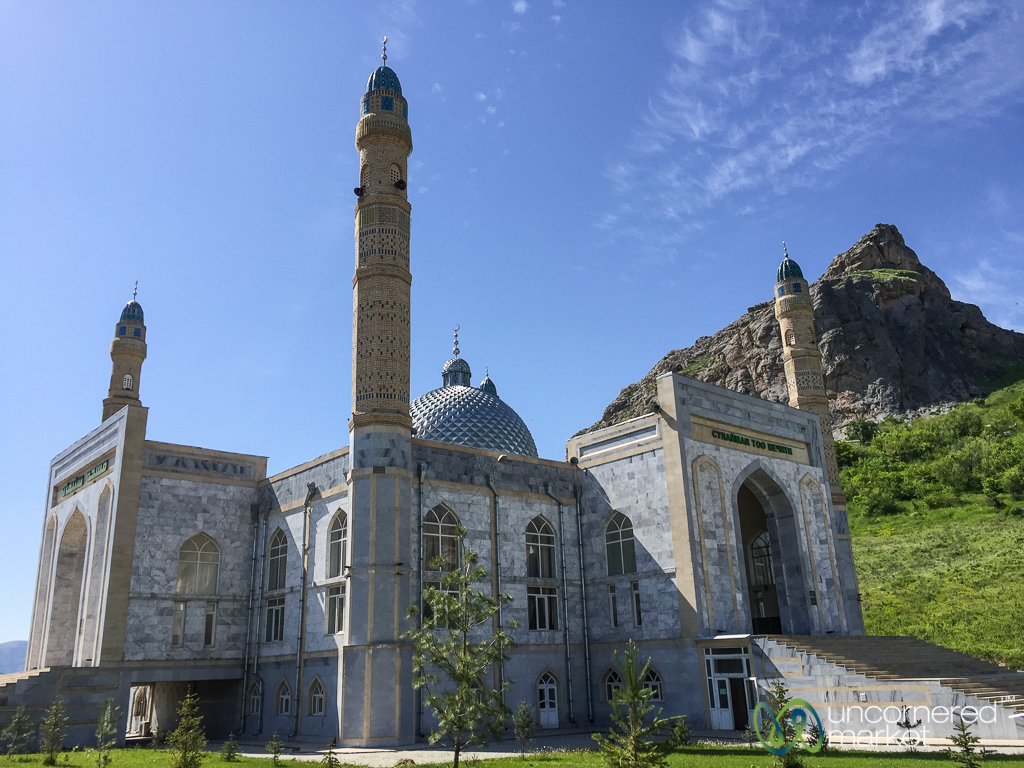 Suleimann-Too Mosque in Osh, Kyrgyzstan