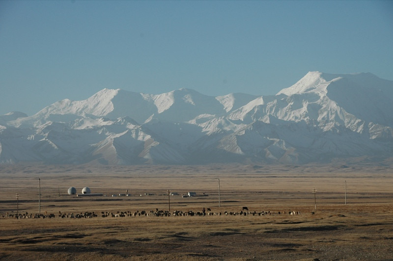 Morning View of Mountains - Sary Tash, Kyrgyzstan