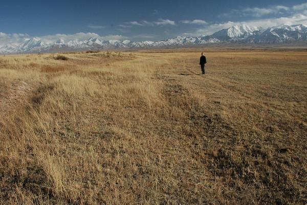 Early Autumn in Mountains - Lenin Peak, Kyrgyzstan