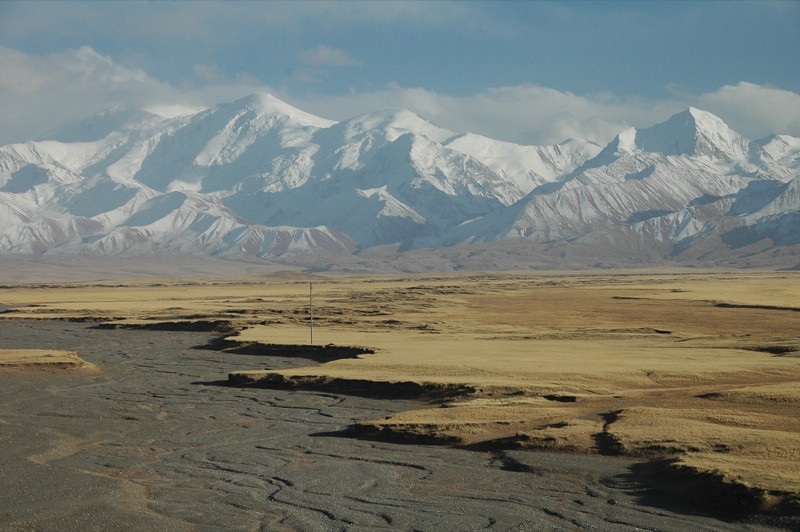 Creekbeds and Mountains - Sary Tash, Kyrgyzstan