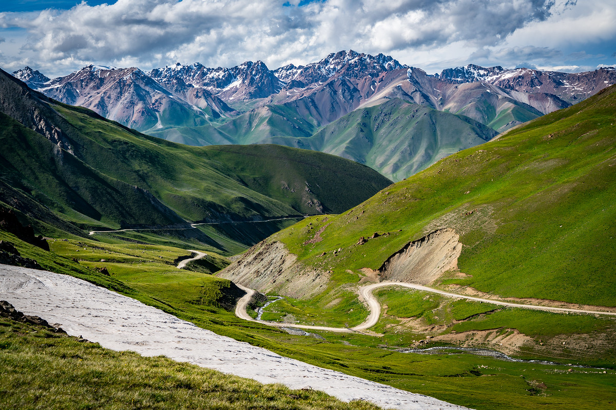 Road to Song Kul, Kyrgyzstan