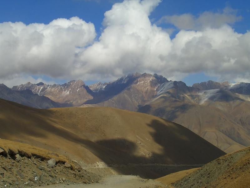 Mountain Vistas on Horse Trek to Song Kul Lake, Kyrgyzstan