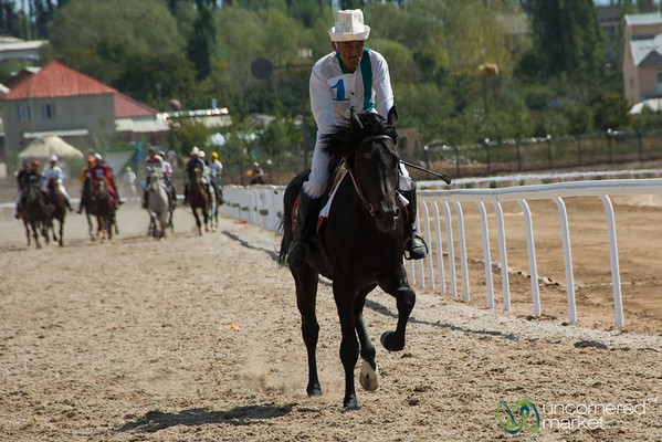 Horse Racing at World Nomad Games - Kyrgyzstan