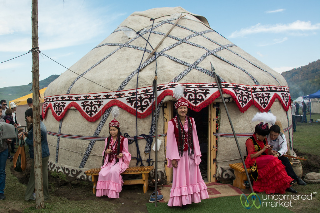 Yurt Village at Nomad Universe - World Nomad Games, Kyrgyzstan
