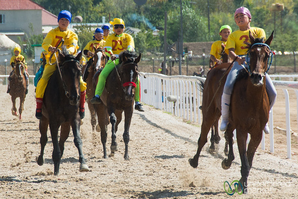 Young Adult Horse Racing - World Nomad Games, Kyrgyzstan